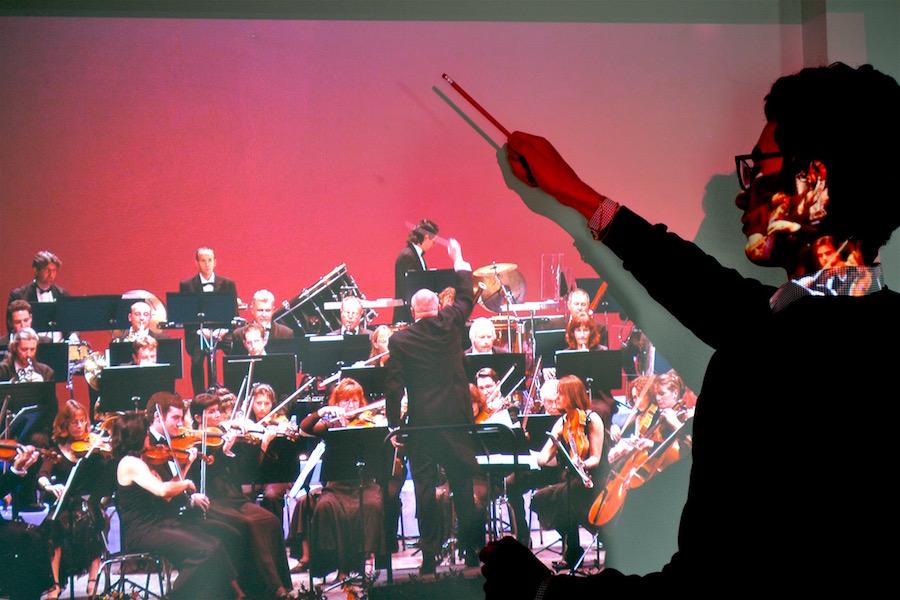 cocoon orchestre vidéoprojecteur