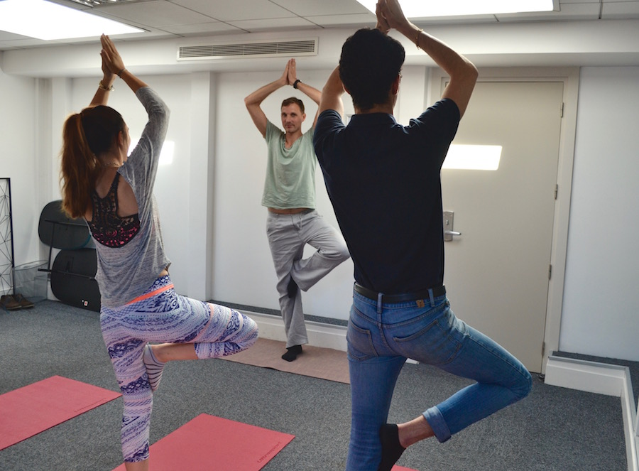 Yoga cocoon climatisation