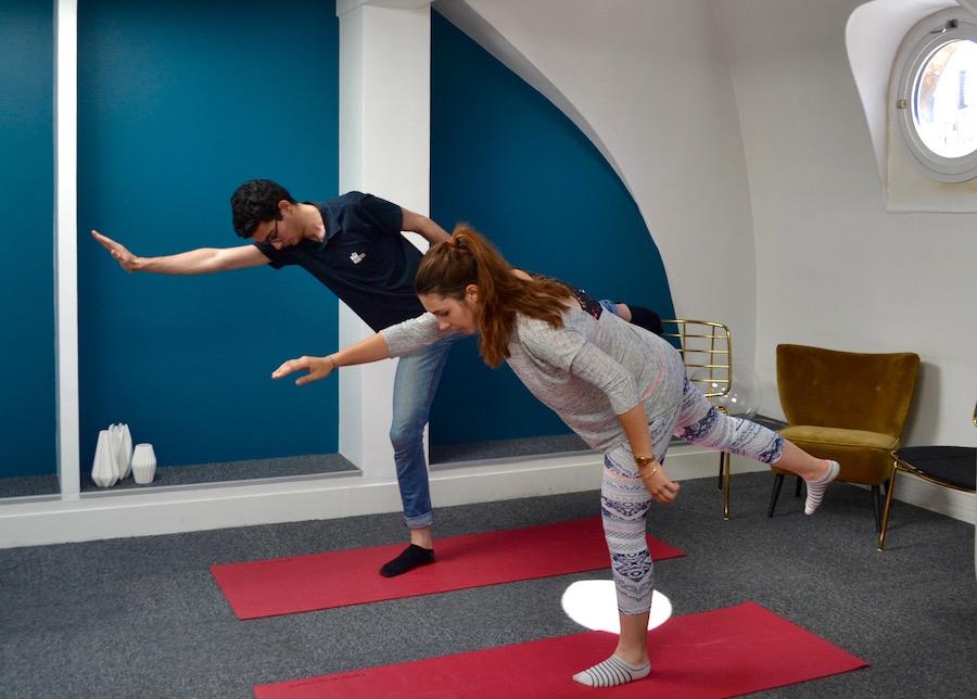 Yoga cocoon