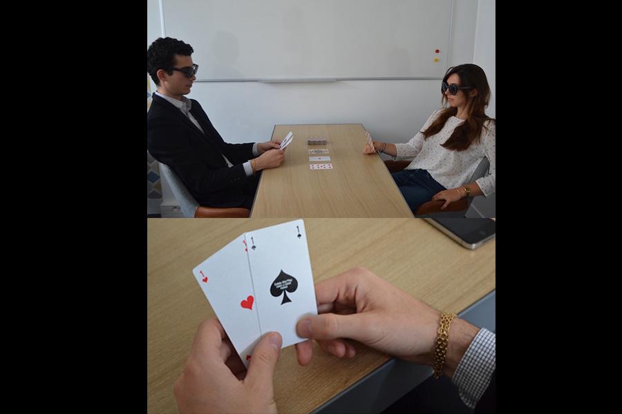Poker cocoon tableau blanc